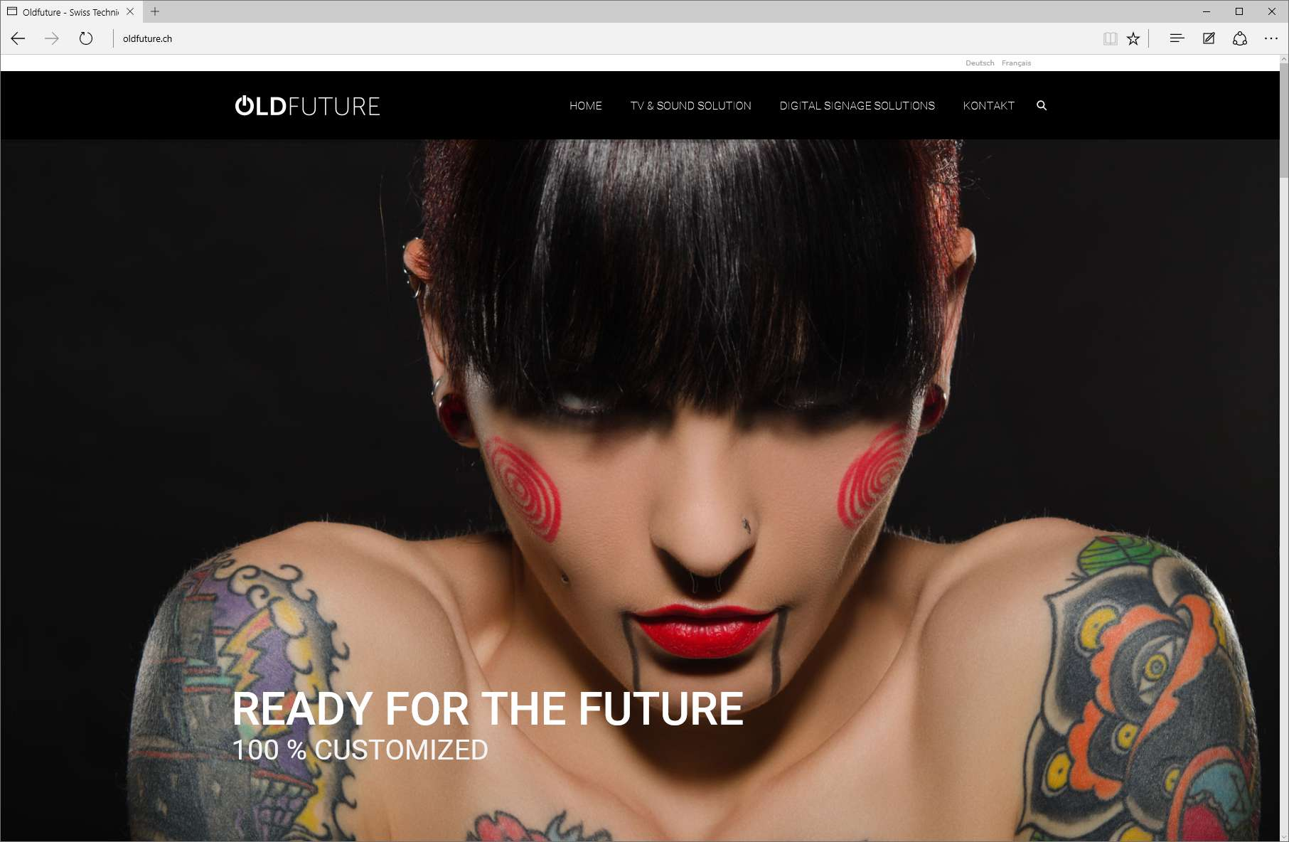 Oldfuture Webseite